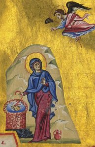 mary at well